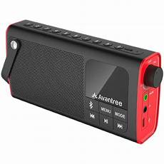 Portable Wireless Bluetooth Speaker Radio Card by Avantree Bluetooth Speaker Fm Radio Micro Sd Card Player