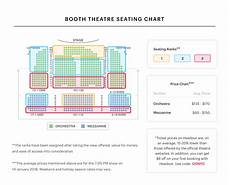 Chicago Theater Booth Seating Chart Booth Theatre Seating Chart Best Seats Pro Tips And More