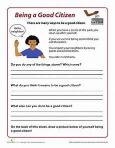 Civic Activities Definition How To Be A Good Citizen Curriculum Ideas Social