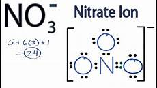 No Ion Nitrate Ion Lewis Structure How To Draw The Lewis