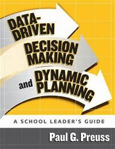 Data Driven Decision Making Data Driven Decision Making And Dynamic Planning A School