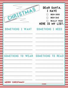 Christmas List Maker Printable The Christmas List 4 Things Freebie Made By Memilyrae