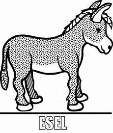 Malvorlage Esel Einfach Malvorlage Esel Zum Ausdrucke
