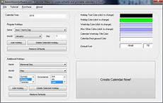 Excel Calendar Maker Calendar Maker To Create Editable And Printable Calendars