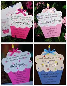 Diy Birthday Party Invitations Diy Cupcake Birthday Invitation