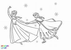 Ausmalbild Elsa Und Elsa Und Ausmalbilder Kostenlos Uploadertalk Inside
