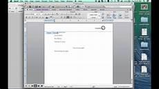 Microsoft Office Mla Format Mla Format Video Microsoft Word 2013 On A Mac Youtube