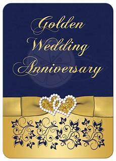 50th Anniversary Template Golden Wedding Anniversary Invitation Golden Wedding