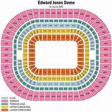 Edward Jones Dome Seating Chart Rows Edward Jones Junglekey Fr Image 250