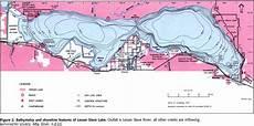 Lesser Lake Map And Depth Chart Thecampfiretime Com