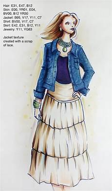i like markers fashion sketch class updates