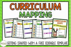 Curriculum Guide Template Curriculum Mapping Grab A Free Editable Template Now