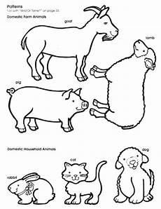 Farm Animal Outlines Animal Pictures With Images Animal Outline Animal