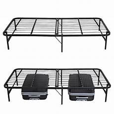 folding detachable size slat metal platform bed frame