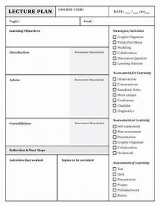 Cps Lesson Plan Template Lesson Plan Template Download In Word Or Pdf Top Hat