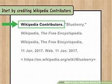 Mla Source Cite The Best Way To Cite A Wikipedia Article In Mla Format