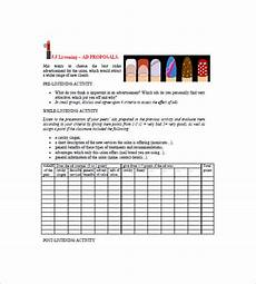 Pricelist Template Beauty Price List Template 9 Free Word Excel Pdf Format