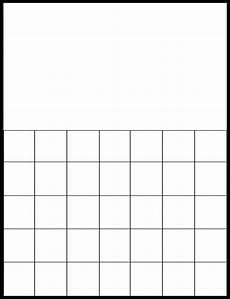Printable Blank Calendar Printable Monthly Calendar Grid Printable Calendar 2019 2020