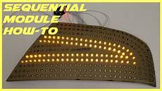 How To Build Sequential Lights How To Build Sequential Turn Signal Lights