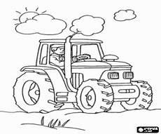 ausmalbilder ein traktor ein arbeit fahrzeug zum ausdrucken