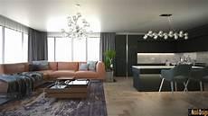 interior of homes modern house interior design luxury concept living room