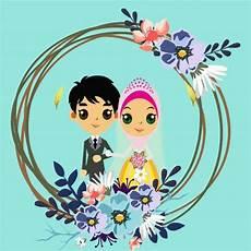 dapatkan inspirasi untuk gambar pernikahan lucu kartun