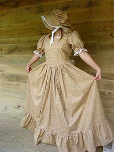 pioneer clothes handmade historical costumes pioneer colonial golden