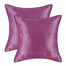 pack of 2 calitime cushion covers throw pillow cases