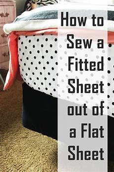 How To Make A Cover Sheet For A Paper How To Sew A Fitted Sheet Out Of A Flat Sheet