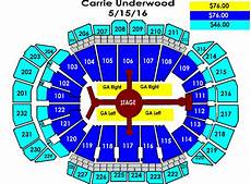 Target Center Seating Chart Carrie Underwood Carrie Underwood Sprint Center