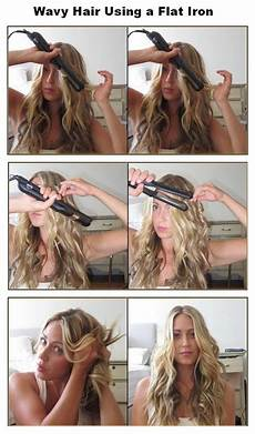 new short hair styles how to make wavy hair using a flat iron
