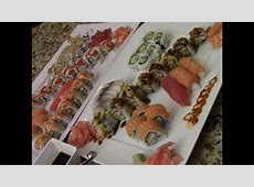 How To Make Delicious Sushi At Home (1/3)   YouTube