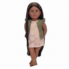neveah 18 inch hair play doll our generation