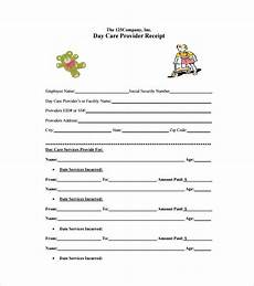 Day Care Receipts Daycare Receipt Template 24 Free Word Excel Pdf