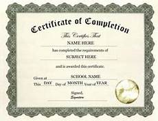 Generic Certificate Of Completion 7 Free Certificate Of Completion Templated Excel Pdf Formats