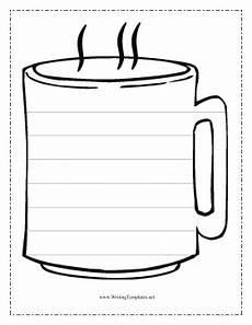 Coffee Mug Template Coffee Writing Template Writing Template Freebies Mug
