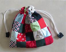 scrappy patchwork gift bag allfreesewing
