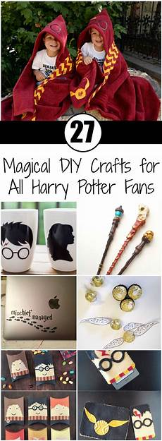 27 magical diy crafts for all harry potter fans ritely
