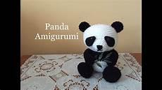 panda amigurumi tutorial