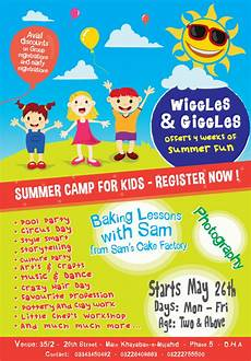 Summer Camp Pamplets Free 17 Summer Camp Flyer Templates In Ms Word Psd Ai