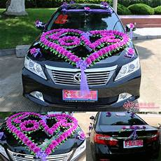 wedding car decorations car flowers propose necessary