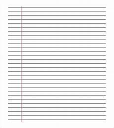 Notebook Paper Template For Word 22 Paper Templates Amp Samples Doc Pdf Excel Free