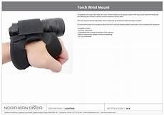Wrist Mount Dive Lights Torch Wrist Mount Datasheet Northern Diver By Northern