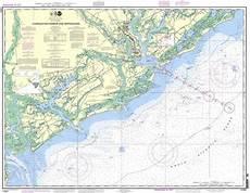 Charleston Sc Nautical Charts Noaa Chart 11521 Charleston Habor And Approaches
