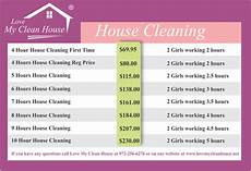 Merry House Cleaning Prices June 2015 Www Lovemycleanhouse Net
