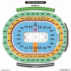 Little Caesars Arena Seating Chart Little Caesars Arena Seating Chart Seating Charts Amp Tickets