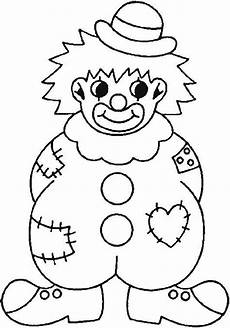 clown coloring pages coloring picture of a badly
