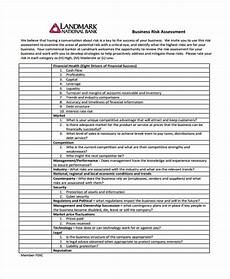 Company Assessment Template 30 Risk Assessment Samples Free Amp Premium Templates