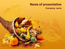 Thanksgiving Powerpoint Background Thanksgiving Day Free Free Presentation Template For