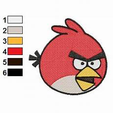 Angry Bird Designs Angry Birds Embroidery Design 10